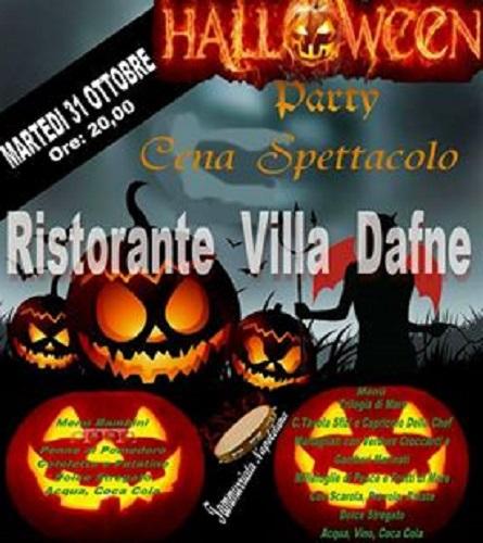 Halloween Party Cena Spettacolo Villa Dafne 464321ea42a7