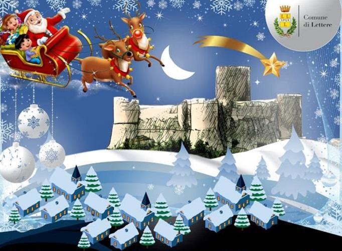 Immagini Di Lettere Di Natale.Natale Al Castello Di Lettere 2018 2019 Mercatini Di Natale